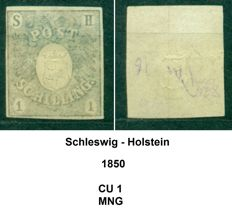 Germany 1850-1920 - Old German States and Occupations - Collection of 86 classic stamps