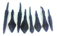 Medieval iron arrowheads - 49-76 mm ()
