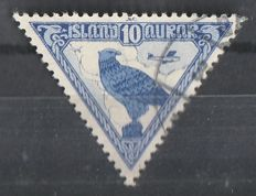 Iceland 1876/1930 – small batch Michel 7 /139 .