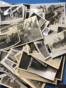 WW II Original Third Reich lot of 50 pictures of the German Wehrmacht, Series 15/50 + 18