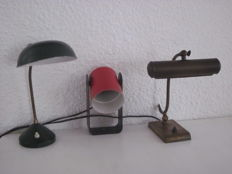 Heca and Sis, among others. A lot with 3 vintage designer lamps.