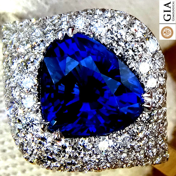 clean itm gia sapphire image ebay eye carat blue loading lustrous violetish is s