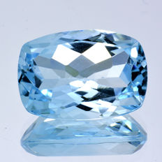Sky blue topaz - 7.83 ct - No Reserve Price
