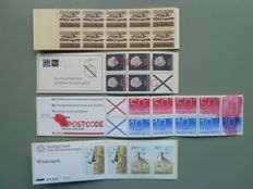 The Netherlands - 4 Stamp booklets with varieties