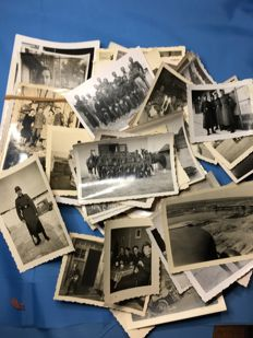 WW II Original Third Reich lot of 50 pictures of the German Wehrmacht, Series 16/50 + 20