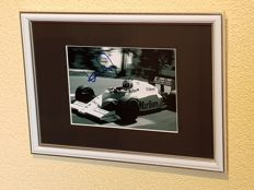 Keke Rosberg (Nico's father) - Worldchampion Formula 1 -  hand signed framed photo + COA.