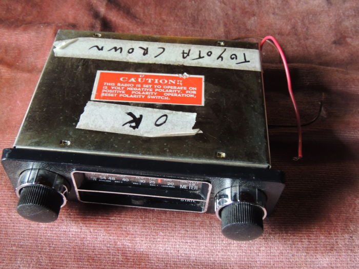 Aristar car radio from a Toyota Crown - 1970s