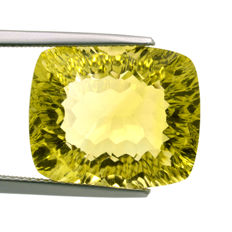 Lemon quartz - 15.29 ct