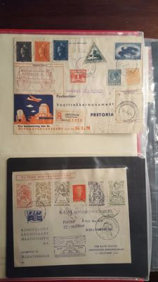 Netherlands and Overseas - Collection of special covers and First Day Covers