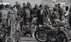 Bill Ray/LIFE - Hells Angels and Harley-Davidsons, California, 1965