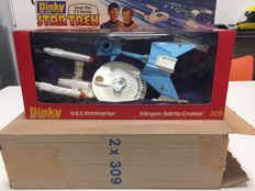Star Trek - Dinky Toys - Gift set nr. 309 - Klingon Battle Cruiser/ U.S.S. Enterprise