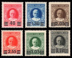 Vatican City, 1934 - Provisional - Complete series. No.  S7