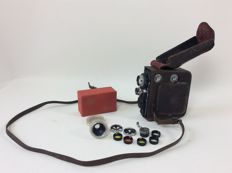 Eumig C3 film camera with bag 1937