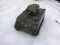 Tank M113A1 scale 1:8 hand made aluminium model