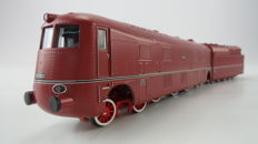 Liliput H0 - L131540 - Steam locomotive with pulled tender type BR05 of the DR