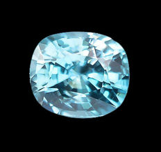 Zircon - blue - 3.44 ct