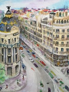 Ivan Rubio - Gran via (Madrid)