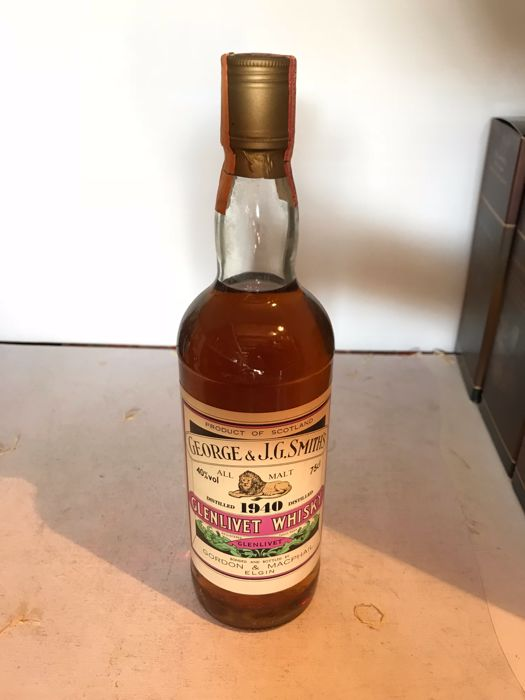 Glenlivet 1940 bottled in the 1980s - Gordon & MacPhail