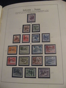 Switzerland 1946/1989 - Collection of service stamps