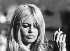 "Michael Ochs Archive - ""Brigitte Bardot Smoking in September"", 1966"