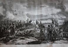 Battle of Austerlitz - Engraving - Designed by Pierre Martinet (1781-18..) Engraved by Lerouge Jeune - 1st quarter 19th century