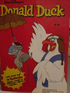 Donald Duck Weekblad - 519 issues - 519xsc - 1st edition (1977/1987)