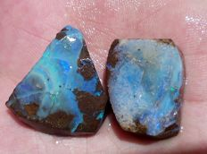 Beautiful Australian Boulder Opal - 67.7 cts (2)