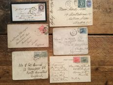 Australian States - A small collection of postal history