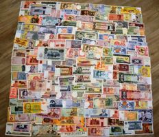 World - Collection of 150 world banknotes