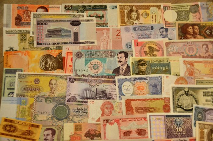 World - Collection of 150 world banknotes - Catawiki