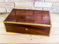 Georgian Mahogany Writing slope, England, circa .1800