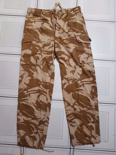 Amazing British Desert DPM Combat Trousers, New British Army Desert Tropical Combats from 2 Gulf war and Afghanistan . With Contract Number : 8415-99-978-6927