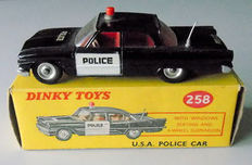 Dinky Toys - Scale 1/43 - USA Police car Ford Fairlane No.258