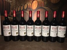 2014 Chateau Saint Jacques, Pomerol - 8 bottles total (0,75ltr.)