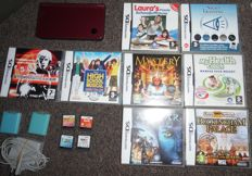DSi XL console including charger and 12 games most in box with manual