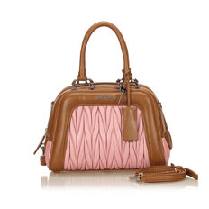Miu Miu - Nappa Leather Handbag