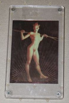 "John Bolton ""Vampir"" - Limited Edition Chrome Card (1994)"