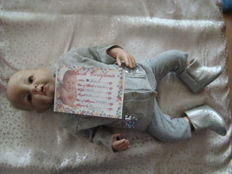 silicone reborn doll plus clothes French