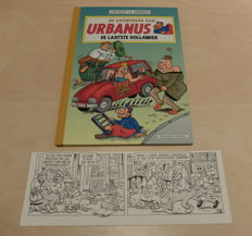 Linthout, Willy - Original strip + Album - Urbanus - De laatste hollander - hc with cloth spine - (2001 / 2002)