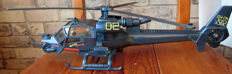 Blue Thunder toy Helicopter - Multi Toys Corp - 1983 - 51 CM long