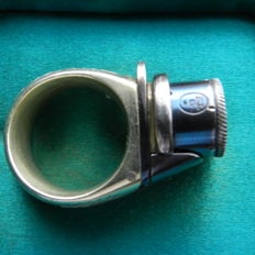 "A cased ""LE PETIT GARDIAN"" Ring Revolver"