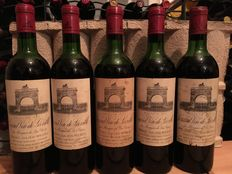 1970 Chateau Leoville Las Cases, St. Julien, Grand Cru Classe - 5 bottles