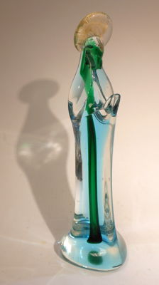 Murano - crystal sculpture of Mary