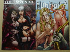Erotic Comics - Unholy #1-5 + The Ravening #1-4 - 9x sc - first printing (2016/2017)
