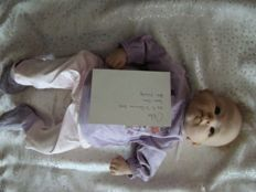 silicone reborn doll plus clothes France real handcrafted with certificate