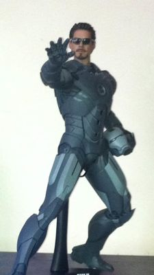 Hot Toys Iron Man mark IV secret project