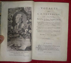 Carl Peter Thunberg - Voyages de C.P. Thunberg, au Japon - 1796