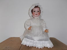 Large antique German porcelain Ernst Heubach doll no. 267.11