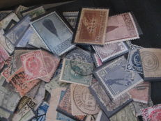 World including Europe - Bulk of classic and semi-modern stamps