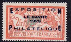 France 1929 – Philatelic exhibition of Le Havre – Yvert No. 257A